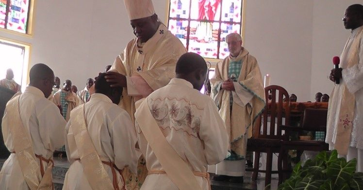 THREE ORDAINED AT ST. JOSEPH VOM