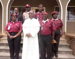 FRSC BOSS VISITS KAIGAMA