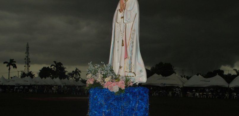 Pictures from the re-consecration of Nigeria to the Immaculate Heart of Mary
